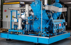 TVx 900 series compressors can be constructed as one, two or three-stage. A booster variant is available in this series.  Main advantages:  Oil-free compression without the use of filters Water-cooling Low maintenance Durable Efficient Robust Suitable for toxic and combustible gases